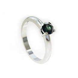 Pierścionek zaręczynowy z aleksandrytem - P15013ba