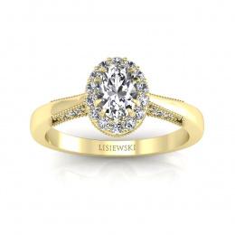 Pierścionek zaręczynowy z diamentami - p16020zbr_SI_H