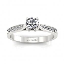 Pierścionek z diamentami - p16013bbr_P_H