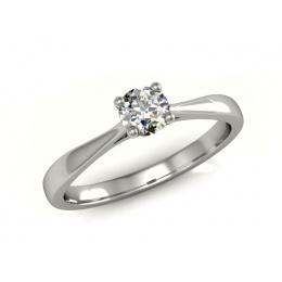 Platynowy pierścionek zaręczynowy - p16059pt