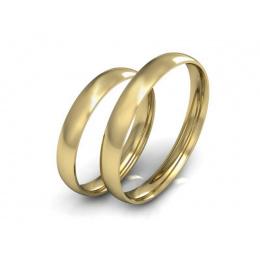 Obrączki ślubne klasyczne żółte złoto - S30110T119z
