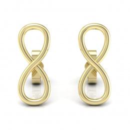 Kolczyki z żółtego złota - K15346z