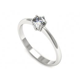 Pierścionek zaręczynowy, platyna, brylant - pt20003br_VS_G