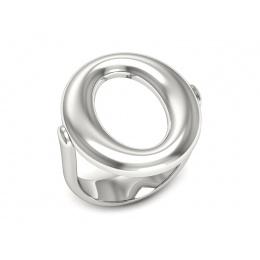 Pierścionek z platyny  - ptw00017