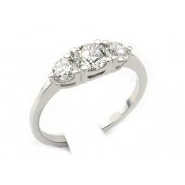 Pierścionek zaręczynowy, platyna, brylanty - pt_w0005br_VVS_G